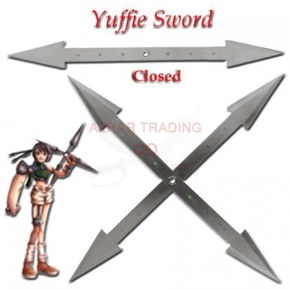 Final Fantasy-Metal Cross Sword of Yuffie