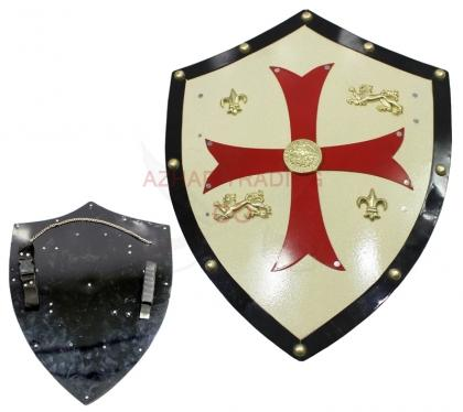 Medieval Royal Knight Crusader Shield