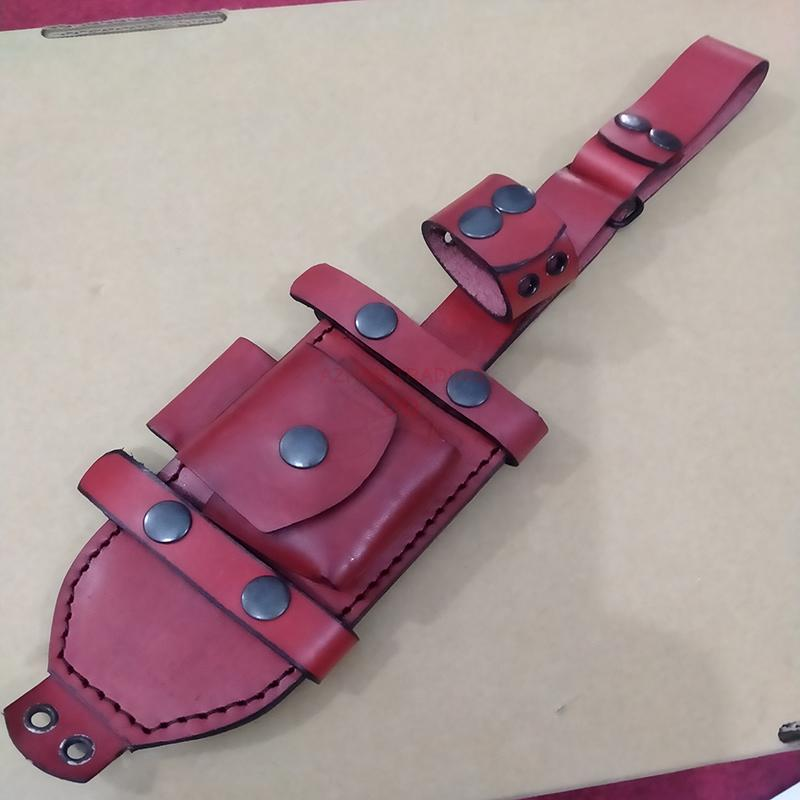 Leather Sheath For Tracker Knives