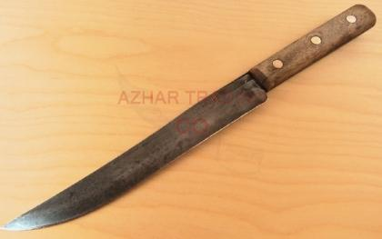 Hammered Carbon Steel Chef Knife