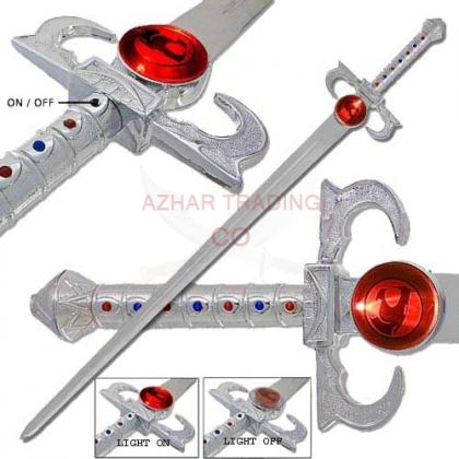 Thundercats Sword of Omens Light up Sword.