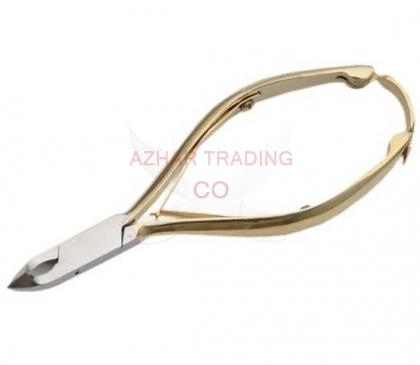 4-inches GOLD ACRYLIC NIPPER