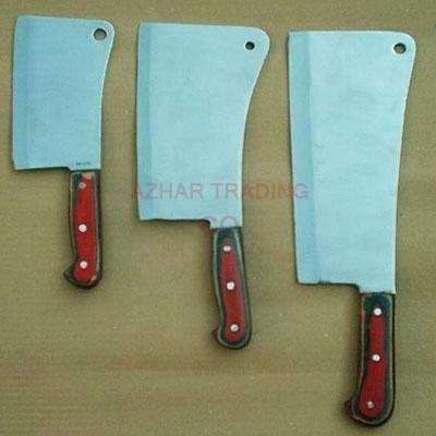 Kitchen Cleaver Set of 3-Pcs.