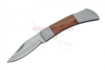 REGULAR WOOD HANDLE FOLDER KNIFE
