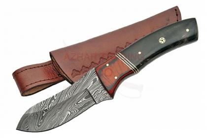 DAMASCUS MOSAIC BIG GAME SKINNER KNIFE
