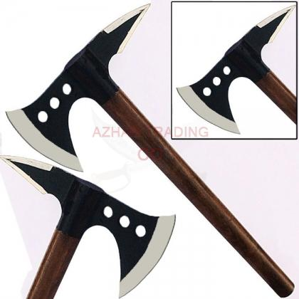 Spiked Medieval Viking Battle Axe