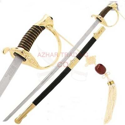 CSA Cavalry Sword Civil War Officer Gold