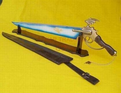Final Fantasy-Lionheart Winged Gunblade of Squall Sword