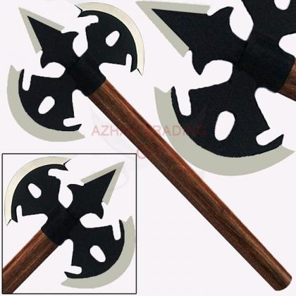 Double Bit Medieval Viking Battle Axe