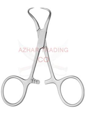 BACKHAUS TOWEL FORCEP CURVED
