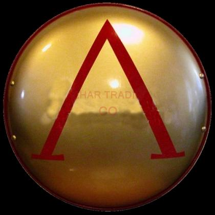 Spartan Greek Lambda Shield