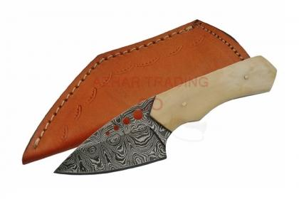 DAMASCUS SHARP SKINNER KNIFE