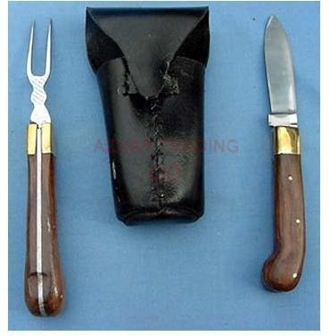 Traveling Folding Folk and Knife Set