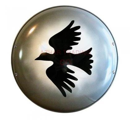 Greek Corinthian Dove Shield