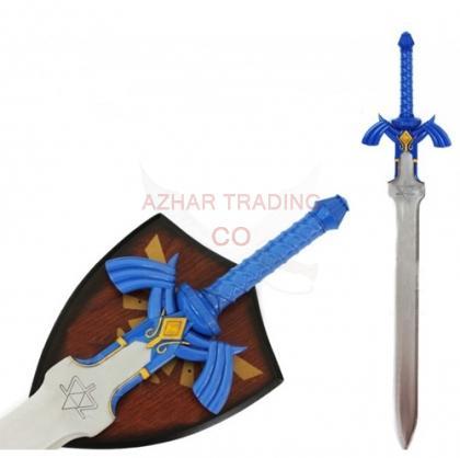Link Master Hylian Sword from the Legend of Zelda Blue Version