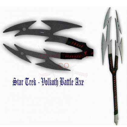 Star Trek Volkoth Battle Axe