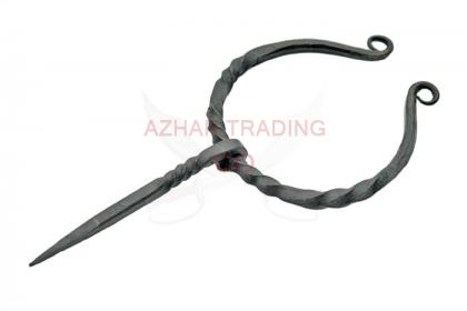 Hand Forged Medieval Cloak Pin Clasp