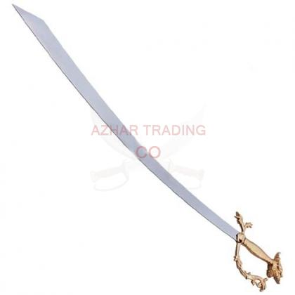 Belly Dance Dragon Scimitar Sword Gold Handle