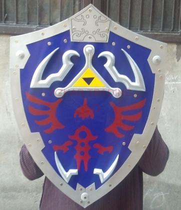 Link Hylian Shield Legend of Zelda