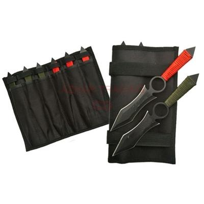 6-PCS DRAGON WING THROWING KNIFE