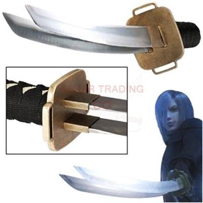 Final Fantasy-Kadaj Katana Dual Bladed Sword