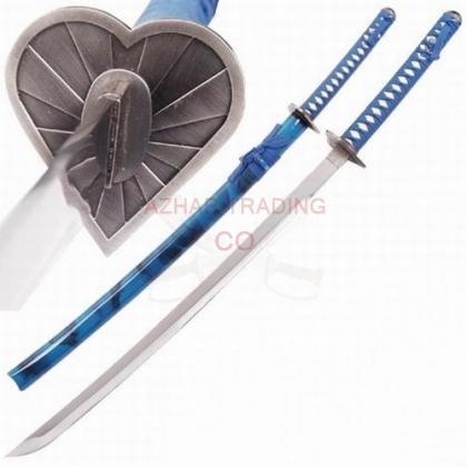Bleach - Lou Wo Heart Japanese Katana Sword