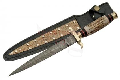 DAMASCUS COMMANDO KNIFE