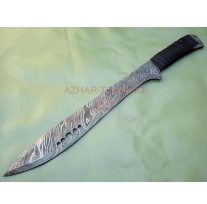 Damascus Hunting Sword