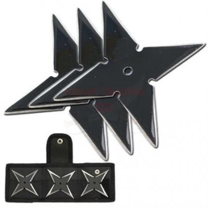 Ninja Throwing Star Set 4 Points