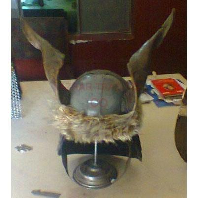 Conan The Barbarian Helmet with Goat Horn