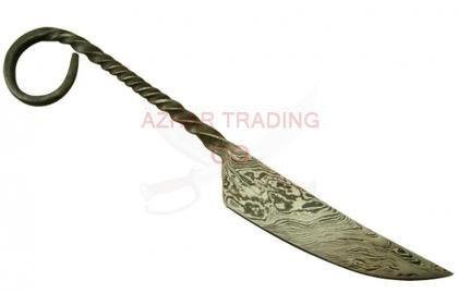 Damascus Medieval Knife